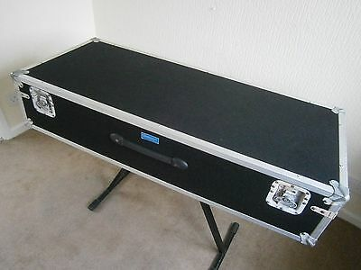 Semi Flight Hard Keyboard Case for top of the range large musical  instruments