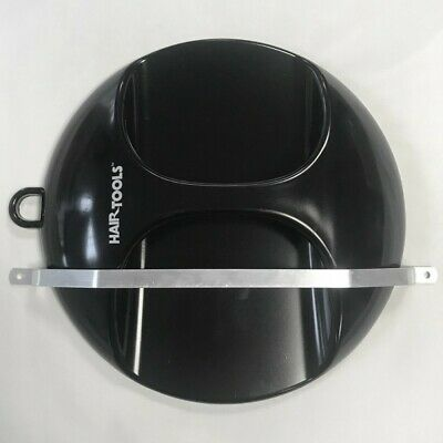 HAIR TOOLS Hairdressing Salon Back Mirror Round BLACK