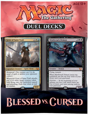 Magic The Gathering - Duel Decks - Blessed vs. Cursed - englisch
