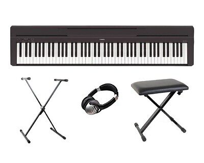 Yamaha P45 Digital 88 Weighted Key Stage Piano Basic Package