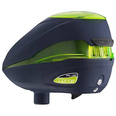 Dye Paintball Loader Rotor R2 Farbe: Navy  Lime