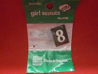 Brownie Girl Scouts Number 8 (New)