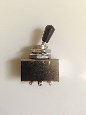 3 way pickup toggle selector switch black tip