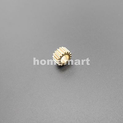 16T Brass Gear 0.5 Modulus Teeth=16 Aperture 5mm 4.97mm Model Accessories Metal