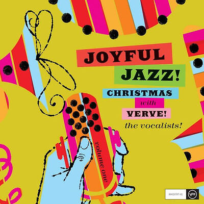 VARIOUS - JOYFUL JAZZ! CHRISTMAS WITH VERVE, VOL. 1: THE VOCALISTS - CD - Sealed