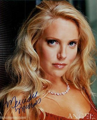 Mercedes McNab In Person Signed Photo - B89 - Angel