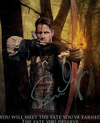 Sean Maguire In Person Signed Photo - B82 - Robin Hood - Once Upon A Time