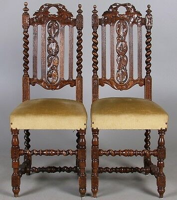 PAIR  ANTIQUES CHAIRS  Perfect condition