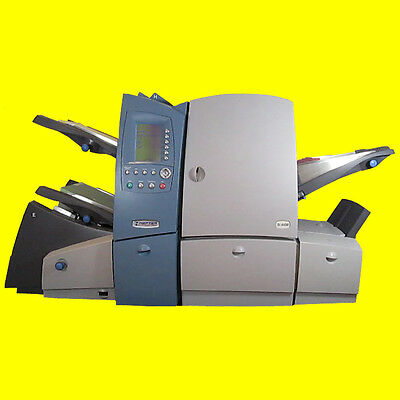 Falz- und Kuvertier maschine Hefter SI-4400 Pitney Bowes FastPac DI 621