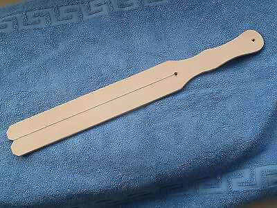 "NEW Authentic 2 tail Leather TAWSE - 7mm thick 60mm x 445mm (2¼""x14.½"") (cane)"