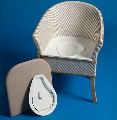 Deluxe Commode Chair Wooden Frame