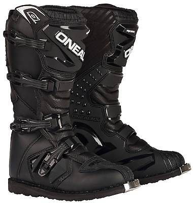 New O'Neal/Oneal Motocross/Offroad Rider Adult Boots, Black, Size US-9