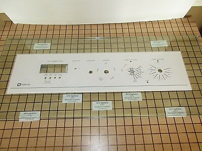 Maytag Oven Glass Control Panel - Wht 7912P068-60  SATISF GUAR & FREE EXPD SHIP