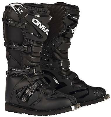 New O'Neal/Oneal Motocross/Offroad Rider Adult Boots, Black, Size US-10