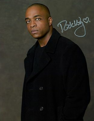 Rick Worthy In Person Signed Photo - B122 - Fallen