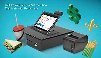 #1 Restaurant POS System - Monitor, Printer, Cash Drawer & Software!