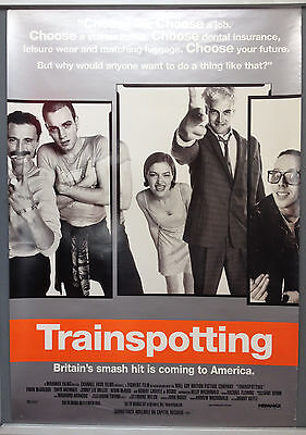 Cinema Poster: TRAINSPOTTING 1996 (US One Sheet) Ewan McGregor Robert Carlyle