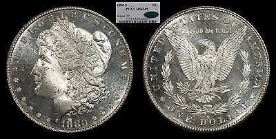 1880-S Morgan Silver Dollar MS65 PL Proof Like PCGS CAC $1