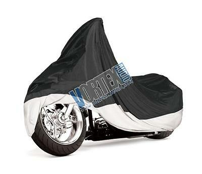 Brand New PYLE PCVMC22 ARMOR SHIELD DRESS 1500CC MOTORCYCLE COVER BLUE/SILVER