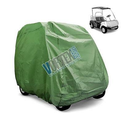 New Pyle Pcvgfct60 Armor Shield Golf Cart Storage Cover 2 Passenger In Olive