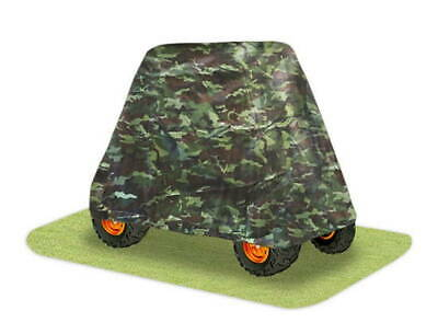 New Pyle Pcvutv13 Armor Shield Utv Cover Without Cabin Camo Weather Protection