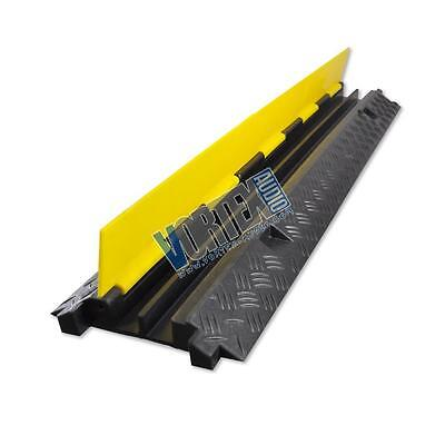 New Pyle PCBLCO26 Cable Protective Cover Ramp, Cord/Wire Track, Hassle-Free