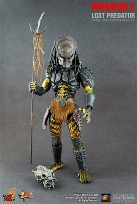 Predator 2 Sideshow Collectibles Hot Toys 14 Inch Movie Masterpiece Lost