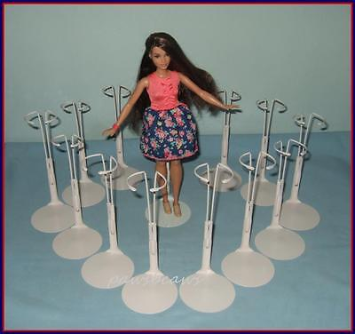 12 Pale Pink Kaiser Doll Stands for Curvy Barbie FASHIONISTAS Harlem Theater