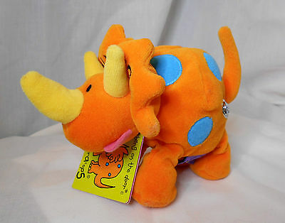 triceratops by bang on the door (collectable beanies) with tag