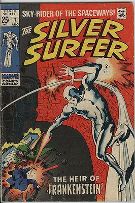 Silver Surfer Issue 7 From 1969 By John Buscema & Stan Lee Silver Age Marvel