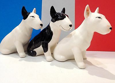 Bull Terrier porcelain figurines dog Russia fighting breed collection of dogs