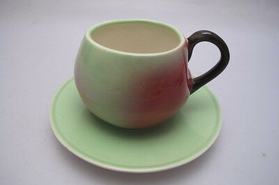 Vintage Carlton Ware Apple Cup Saucer