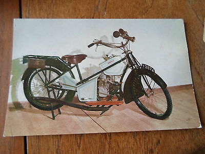 1914 DOUGLAS - Murrays Motor Cycle Museum ~ Colour RP Postcard