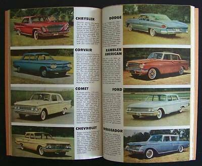 1961 New Car Yearbook Scrapbook Automobile Review Ford/Chevy/Dodge/Plymouth/more