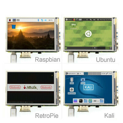 New 3.5'' USB Touch Screen HDMI 1920x1080 LCD Display Audio for Raspberry Pi 3
