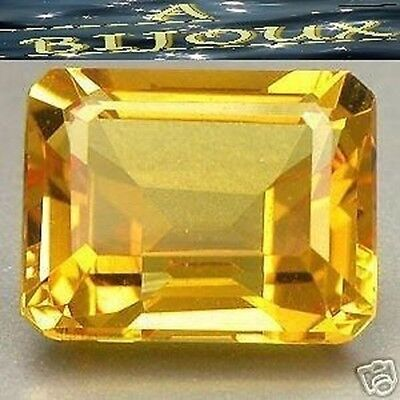 2.90 Cts. Superb Citrine Yellow. Hydrothermal
