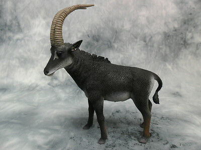 NEW COLLECTA GIANT SABLE ANTELOPE MALE CO88564 REPLICA SCULPTED ACTION FIGURES