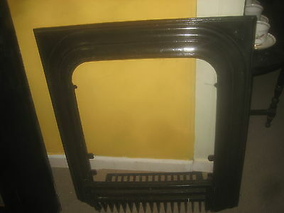 Cast Iron Fireplace surround with coal /wood grate