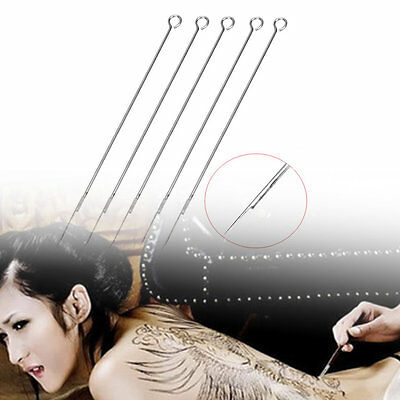 5x1/3/5/7/9RL 7/9M1 9RS Disposable Tattoo Needles 304 Medical Stainless Steel FO