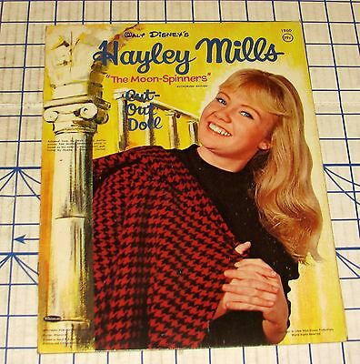 Original 1964 Whitman Hayley Mills Disney The Moon-Spinners Paper Doll Book