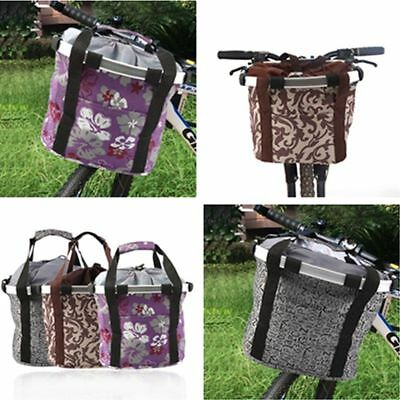 Bicycle Basket Dog Pet Carriers Supplier Bike Cat Seat Shopping Stuff Baskets LO