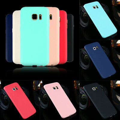 Ultra Thin Rubber Silicone TPU Case Cover For Samsung Galaxy S6 Note 8 A6 A8 A5