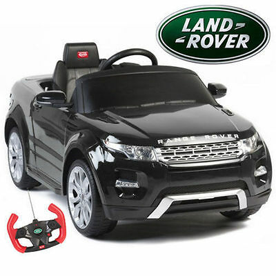 NEW Licensed Range Rover Evoke 12V Kids Ride on Car Black White w Remote