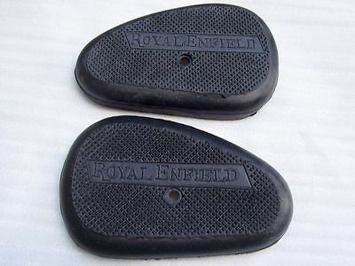 Pair Of Royal Enfield G Model Gas Tank Knee Pad Knee Grip Rubber