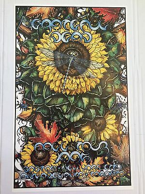 Grateful Dead Fall Tour 1995 poster Michael Everett Numbered Limited