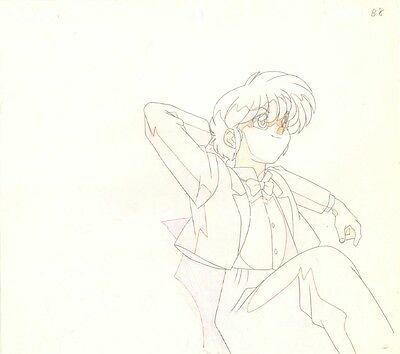 Anime Genga not Cel Ranma 1/2 #196