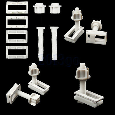 Toilet Seat Hinge Bolts Replacement Bolt Screw Fixing Fitting Kit Repair Tool CG
