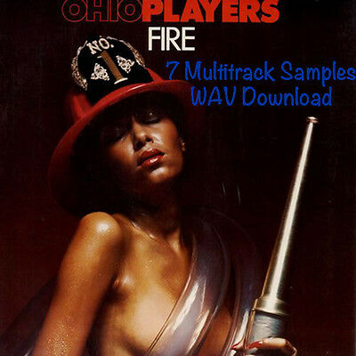 Ohio Players 'Fire' 7 MULTITRACKS Samples WAV * Download