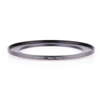 RISE(UK) 82mm-105mm 82-105 mm 82 to 105 Step Up Ring Filter Adapter black