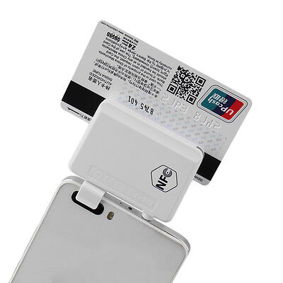 New NFC Contactless Tag Reader Writer Magnetic Card Reader For Smart Phones IB